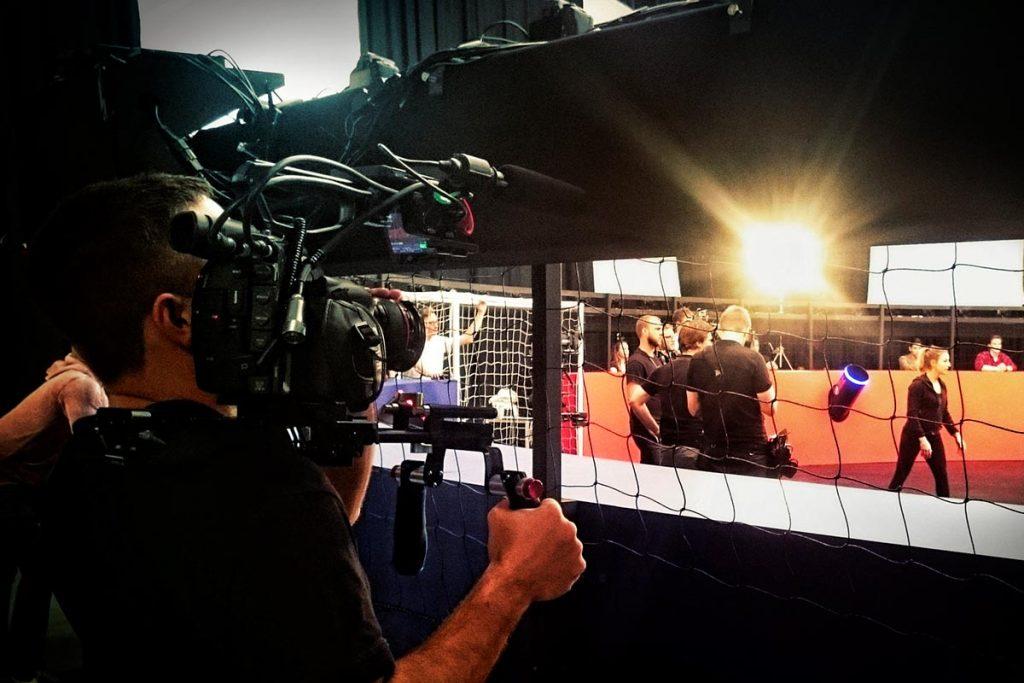 Behind the scenes at Pepsi 360 shoot