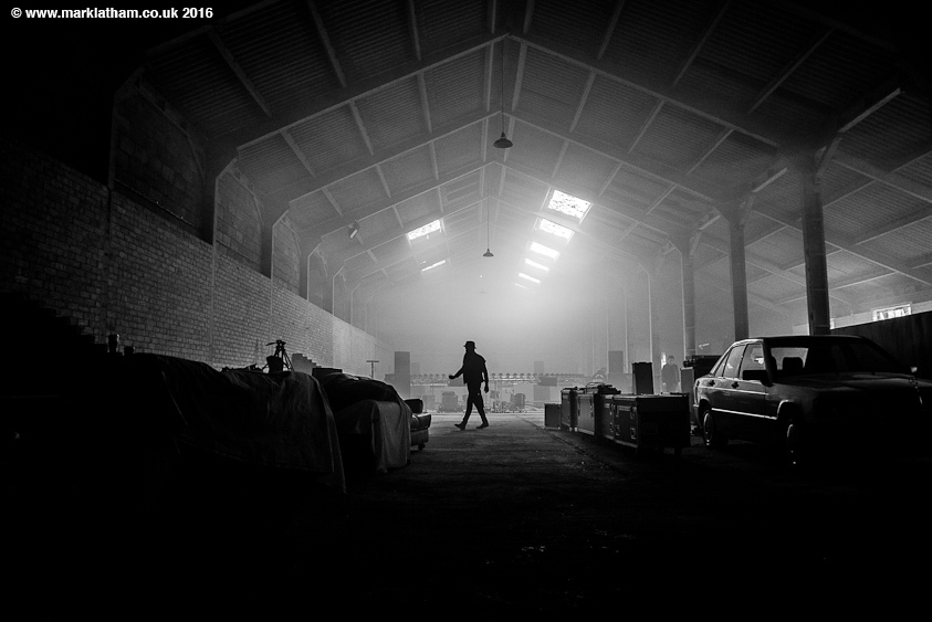 Skindred music video shoot warehouse