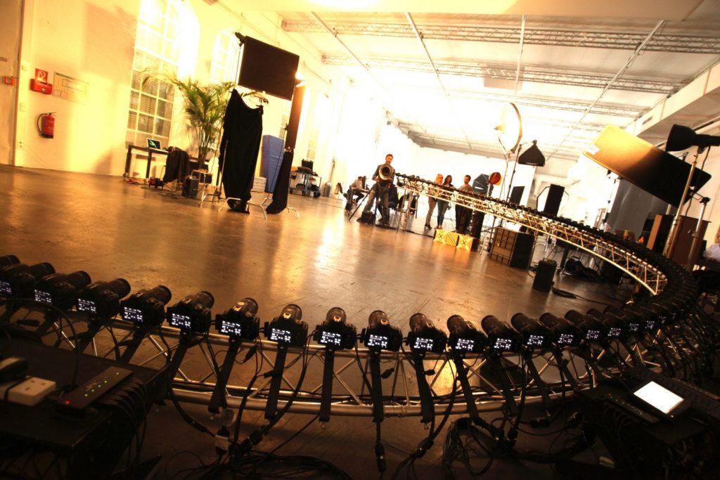 Bullet time rig in Spreegraphen Studios