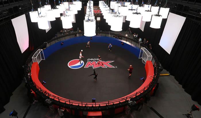 Pepsi Max Volley 360 camera system