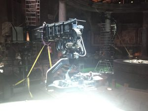 Film camera onset at Zoolander 2