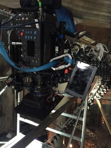 Camera equipment at Zoolander 2 film set