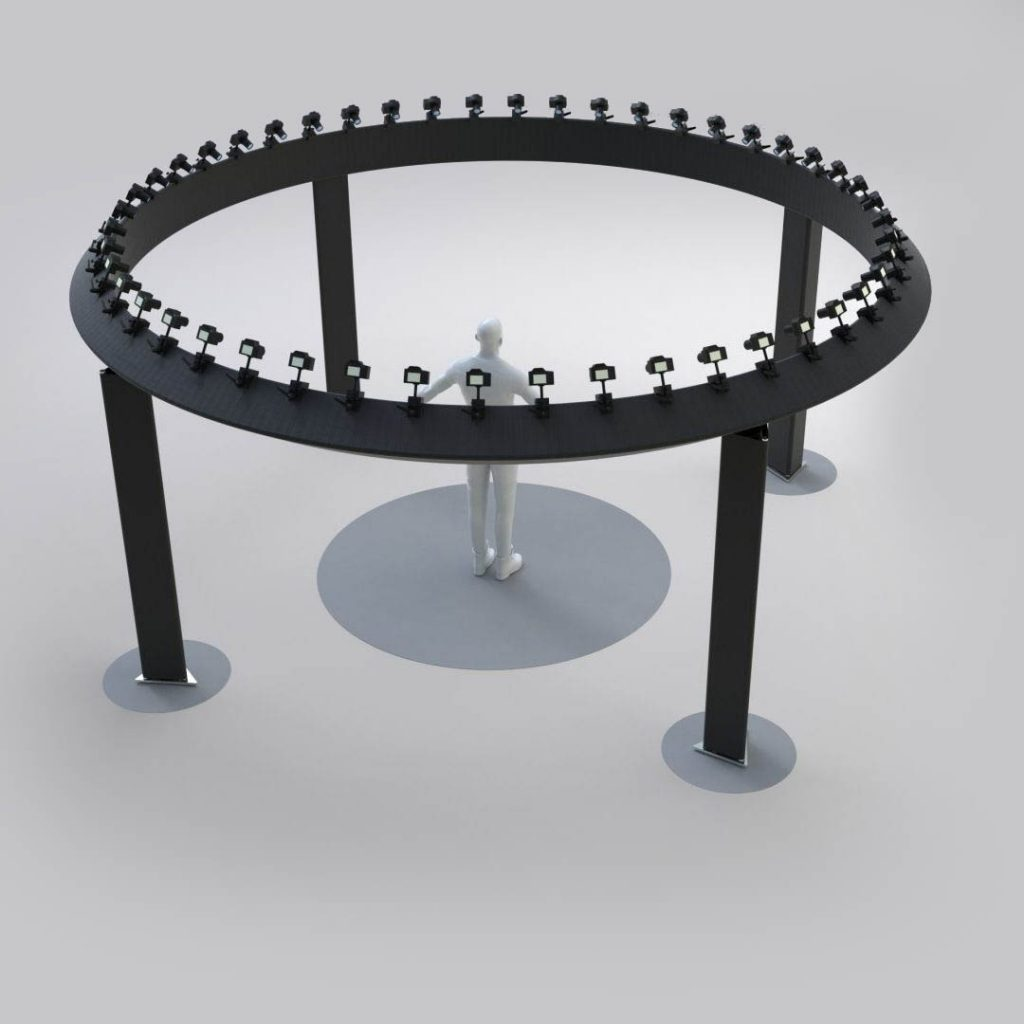 360 camera array rig example