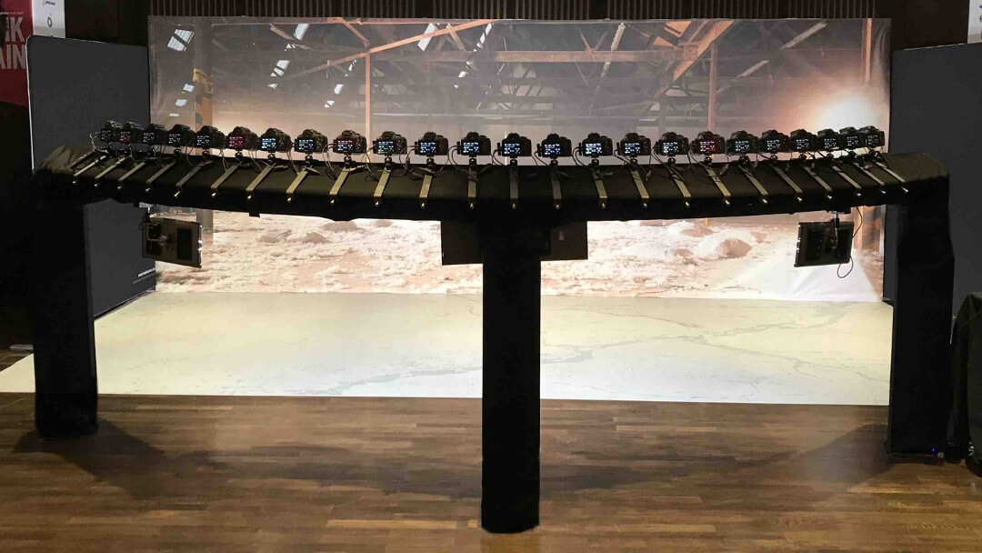 24 Camera Experiential Bullet Time Rig