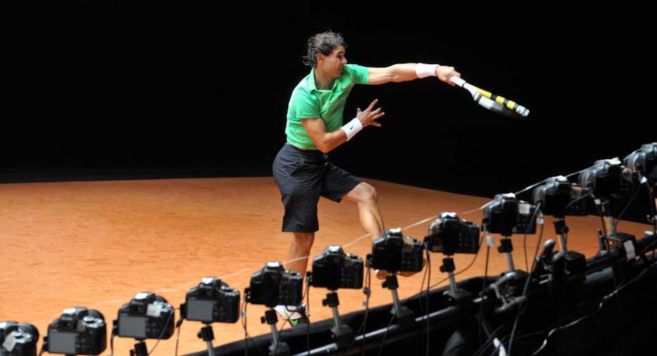 Rafael Nadal Bullet Time Ad